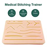 Suture Practice Silicone Module, Medical Skin Suture Surgical Training Pad for Practice and Training Use