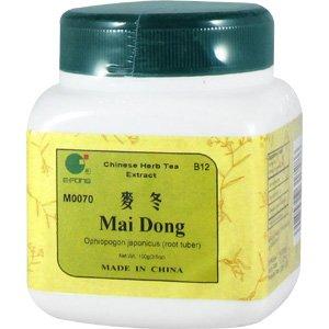Mai Dong - Ophiopogon root tuber, 100 grams,(E-Fong)