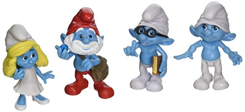 Smurfs Clumsy Smurfette Brainy Collectibles