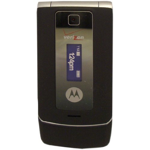 (Verizon Motorola W385 Black/Silver Glyde Mock Dummy Display Toy Cell Phone Good for Store Display or for Kids to Play Non-Working Phone Model)