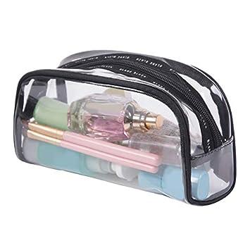 Tolyneil Transparente Kosmetiktasche Frauen Wasserdichte Gro/ße Kapazit/ät PVC Kosmetische Werkzeuge
