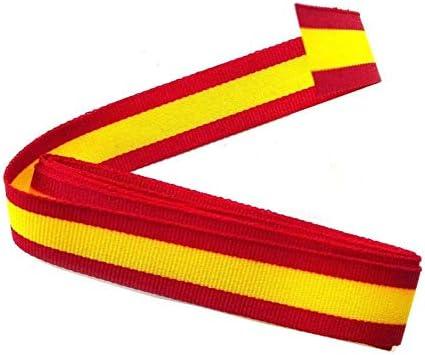 Durabol Cinta 2 Metro Bandera España Pulseras Lazos Pulsera Bandera Ancho 1 cm