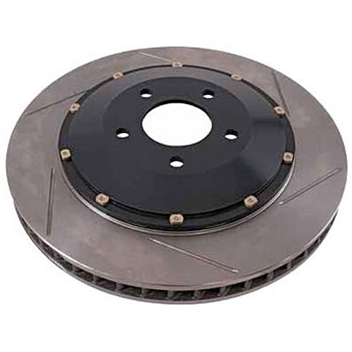 Roush 401600 Brake Rotor (LH, Front 2 Piece, 4 or 6 Piston Brakes), 1 Pack (Piece 2 6 Piston)