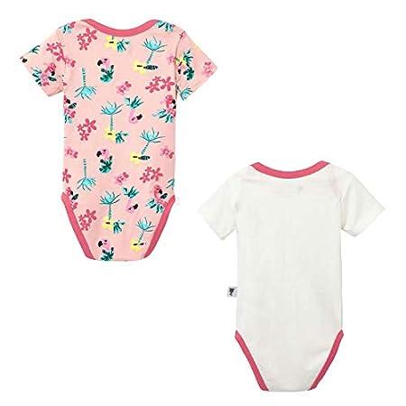 3 mois Taille Lot de 2 bodies manches courtes b/éb/é fille Miss Pinky Petit B/éguin