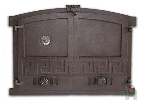 Horno para puerta de hierro fundido (600 x 430 del Horno para ...