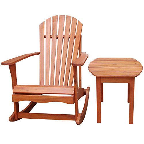 Adirondack Rocker with Side Table