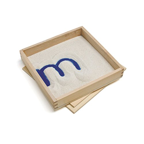 Letter Formation Sand Tray - SSW-LR2361 by Miller Supply Inc