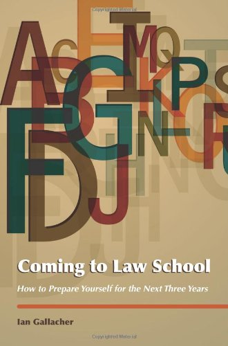 Coming to Law School: How to Prepare Yourself for the Next Three Years