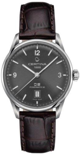 Certina - Wristwatch, Analog automatico, Leather, Men