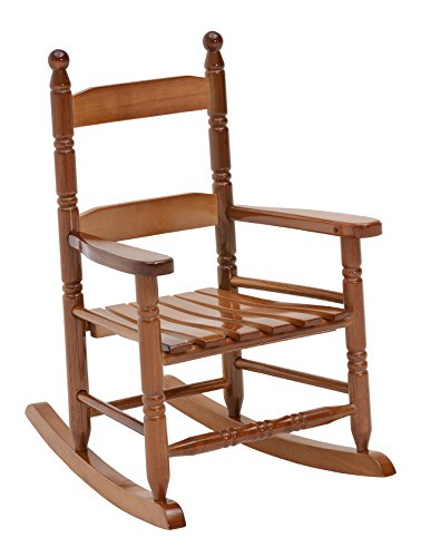 Jack-Post KN-10N Classic Child's Porch Rocker Natural Laquer Oak -