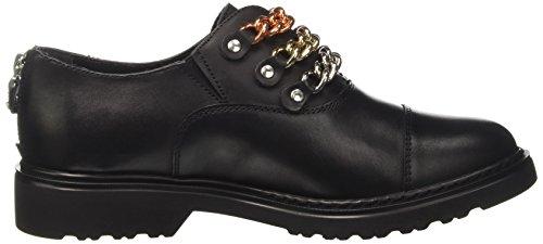 Cult CLE102849, Zapatos Derby sin Cordones Mujer, Negro, 39 EU