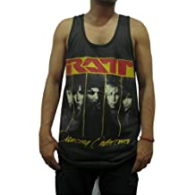 Bunny Brand Men's Ratt Dancing Undercover Music Rock Tank Top T-Shirt