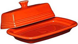 product image for Fiesta Covered Butter Dish, X-Large, Poppy