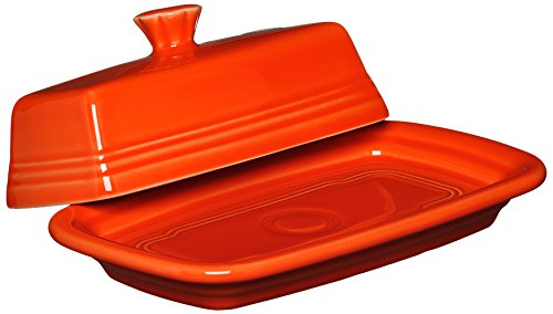 Fiesta Covered Butter Dish, X-Large, Poppy]()