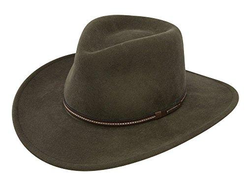 Stetson Gallatin Crushable Wool Felt Hat at Amazon Men s Clothing store  b51db8630b8c