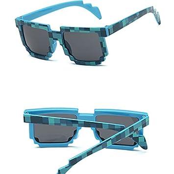 GGSSYY Cuadrado Novedad Mosaico Gafas de Sol Gafas de Sol ...