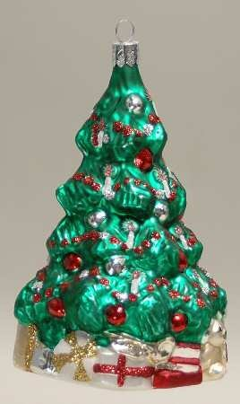 (Waterford Christmas Tree Ornament In Shape Of Tree)