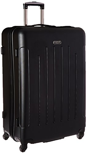 Upright Roller Luggage (Heritage 29 Inch ABS 4-Wheel Upright, Black, One Size)