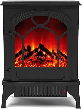 Regal Flame Indoor Aries Electric Fireplace Free Standing Portable Space Heater Stove Kitchen Dining