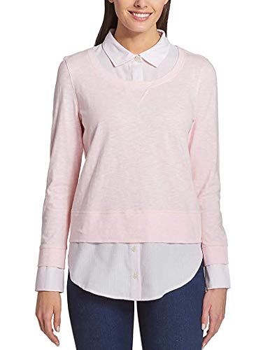 Pink Ladies Clothes (Tommy Hilfiger Ladies 2-fer Blouse, Variety (M,)