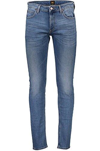 Lee L736KIHI Malone Denim Jeans Hombre Azzurro