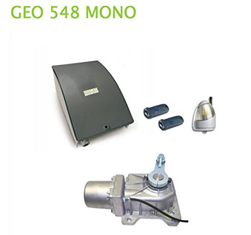GEO 548 MONO DUCATI 24V Underground swing gate opener Ideal for SINGLE wing gate up to 1 x 2,5m/8ft wing length each leaf