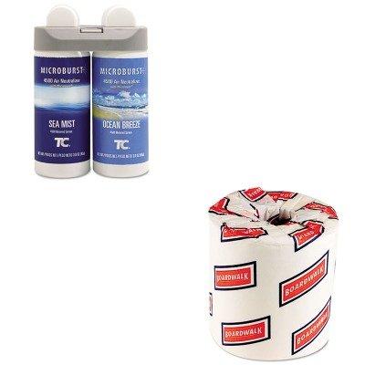 kitbwk6180rcp3485951 – Valueキット – Rubbermaid Microburst Duet Refills ( rcp3485951、ホワイト、2層Toilet Tissue、4.5quot ; X 3quot ;シートサイズ( bwk6180 ) B00MOR8BJO