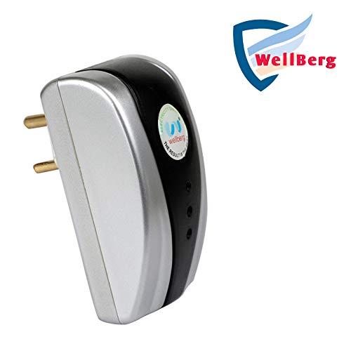 WELLBERG Digital Electricity Saving Device Power Saver (Grey)