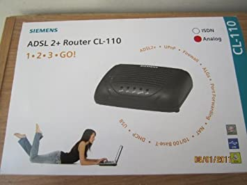 Siemens CL-110 ADSL2+ one port WIRED DSL Modem for Teksavvy Acanac ...