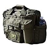 LA Police Gear Jumbo Bail Out Bag -Diaper Bag, Bug Out, Briefcase-Green