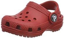 Crocs Classic Clog K, Zuecos Unisex Niños, Rojo (Pepper), 20/21 EU
