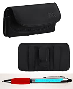 Accessory Factory(TM) Bundle (Phone Case, 2in1 Stylus Point Pen) Pouches ECON Horizontal Pouch(303) (NO Package)