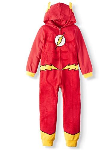 AME Boys Flash Hooded Union Suit Pajama (XS 4/5)
