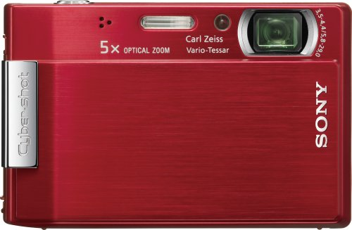 Sony Cybershot DSC-T100 8MP Digital Camera with 5x Optical Zoom and Super Steady Shot (Sony Hd Output Adapter)