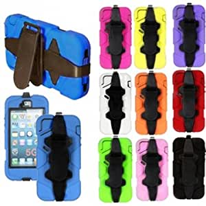 Survivor Waterproof Shockproof Military Duty Case Cover For iPhone 5 --- Color:Rose Red
