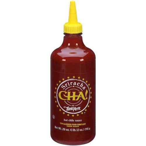 Texas Pete Hot Dogs - Texas Pete Cha Sriracha Sauce, 28 Ounce - 6 per case.