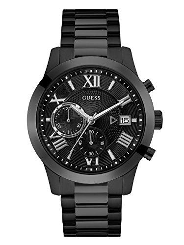 guess rigor watch black