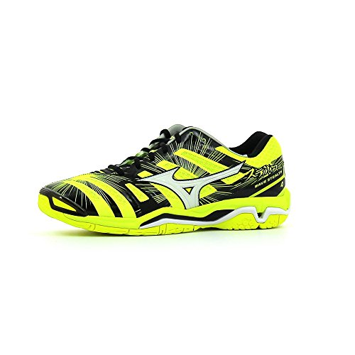 Chaussures Mizuno Wave Stealth 4 SYellow/ White/ Black