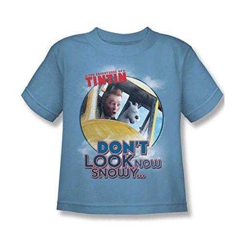 Tintin - Juvy Don'T Look Now T-Shirt In Carolina Blue, Large (7), Carolina Blue