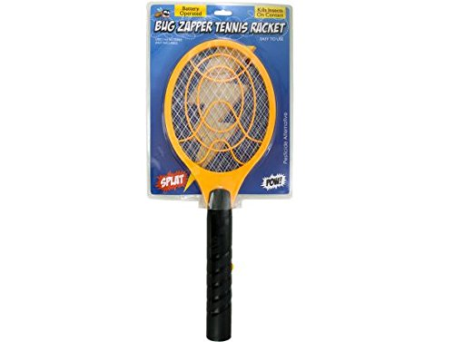 K&A Company Racket Battery Operated Bug Zapper Tennis Mosquito Fly Killer Case of 16 by K&A Company