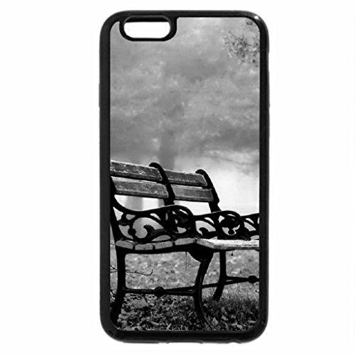 iPhone 6S Plus Case, iPhone 6 Plus Case (Black & White) - November