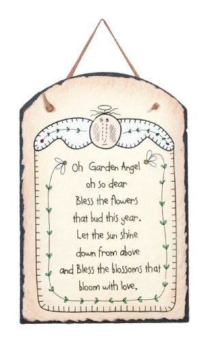 Ohio Wholesale Garden Angel Slate Yard Sign, from our Garden Collection