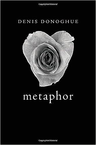Amazon Metaphor 9780674430662 Denis Donoghue Books