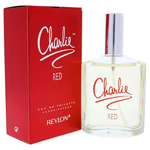 - Revlon Charlie Eau De Toilette Spray for Women, Red, 3.4 Ounce