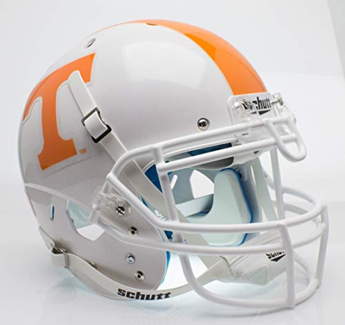 (Schutt NCAA Tennessee Volunteers On-Field Authentic XP Football Helmet, Checker Alt. 1)