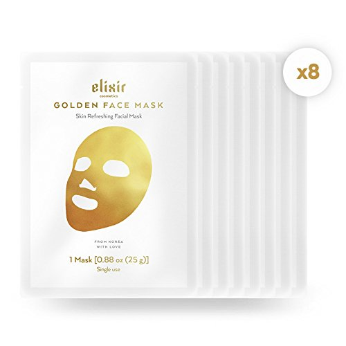 Elixir Gold Korean Face Mask | Collagen & Anti Aging Wrinkle