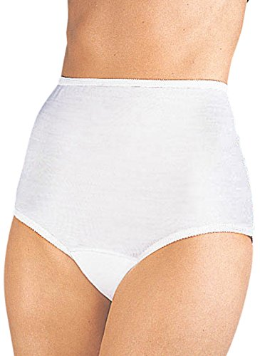 Incontinence Briefs - White With Lace Brief, Size 3X
