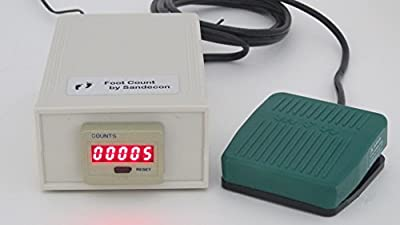 Single Wired Foot Switch Counter