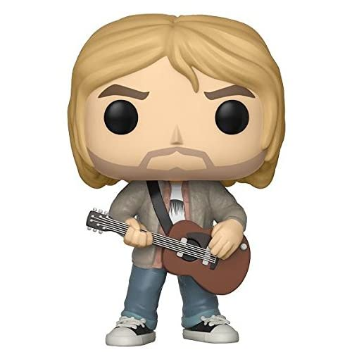 The Fan Club by FYE Funko Pop! Rocks: Kurt Cobain Nirvana - MTV's Unplugged 1993 Limited Edition Vinyl Figure - FYE Exclusive
