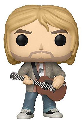 The Fan Club by FYE Funko Pop! Rocks: Kurt Cobain Nirvana - MTV's Unplugged 1993 Limited Edition Vinyl Figure - FYE Exclusive